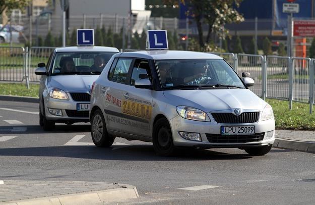 Unia narzuci kursantom sposób zmiany biegów... / Fot: Tomasz Rytych /Reporter