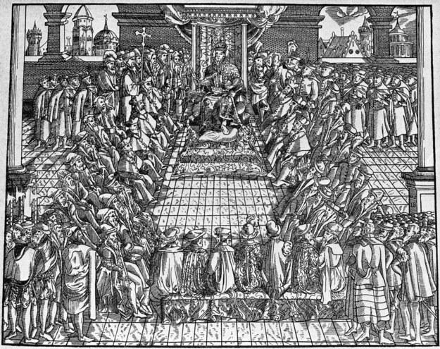 Unia została zawarta 1 lipca 1569 roku na sejmie walnym w Lublinie. /reprodukcja /East News