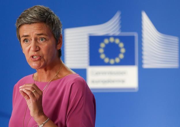 unijna komisarz ds. konkurencji Margrethe Vestager /EPA