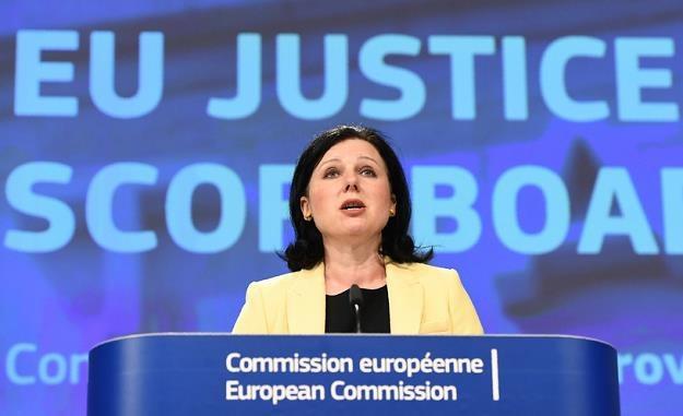 Unijna komisarz ds. sprawiedliwości Vera Jourova /AFP