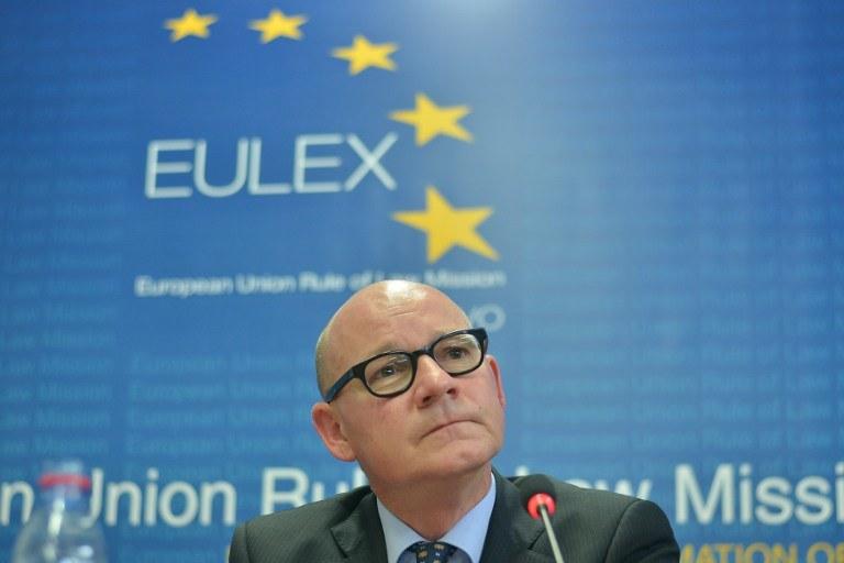 Unijna misja policyjno-prawna EULEX, która składa się obecnie z dwóch tysięcy pracowników /AFP