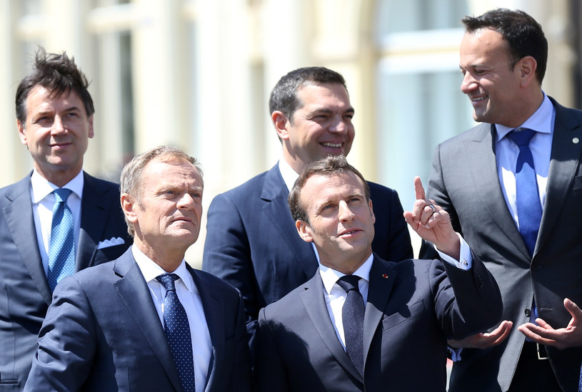 Unijni liderzy w Rumuni /Stoyan Nenov /FORUM