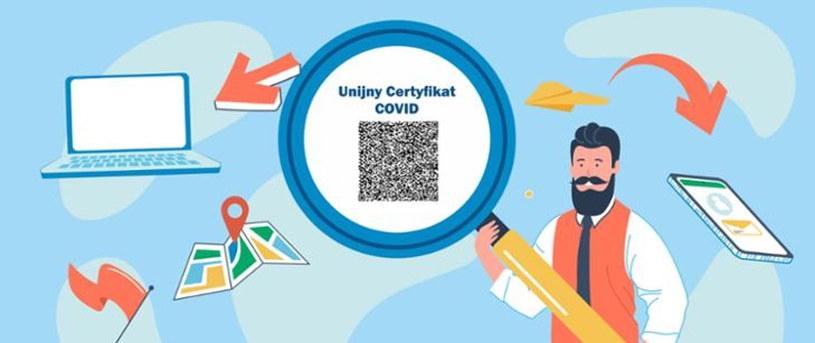 Unijny certyfikat Covid /materiały prasowe