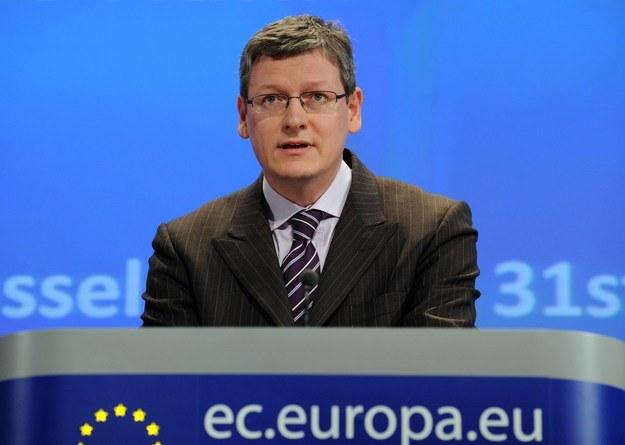 Unijny komisarz ds. zatrudnienia Laszlo Andor /AFP