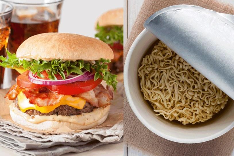 Unikaj fast foodów i produktow instant. /123RF/PICSEL