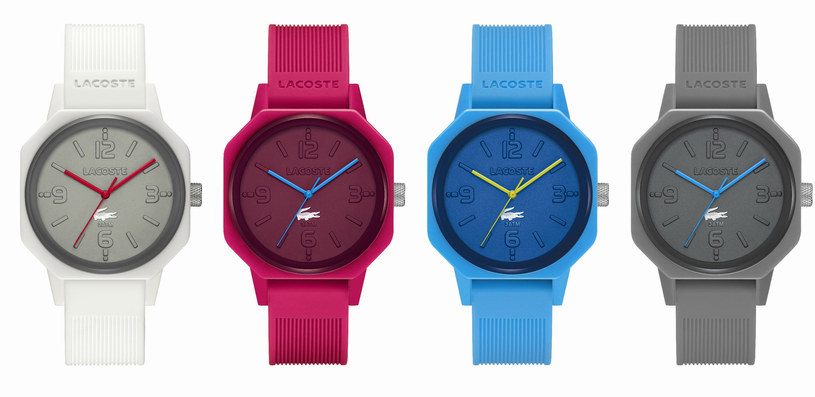 Unikatowe zegarki Lacoste wykonane na 80. urodziny marki /materiały prasowe