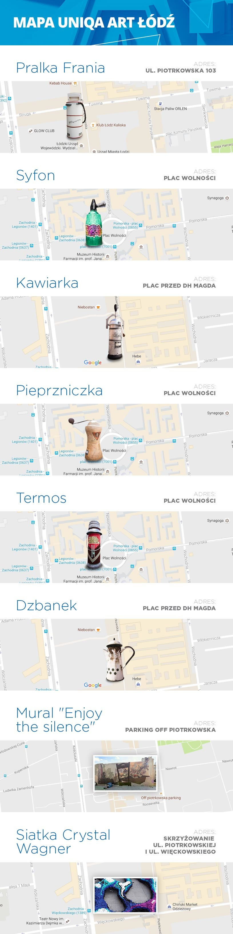 UNIQA Art Łódź na mapie /