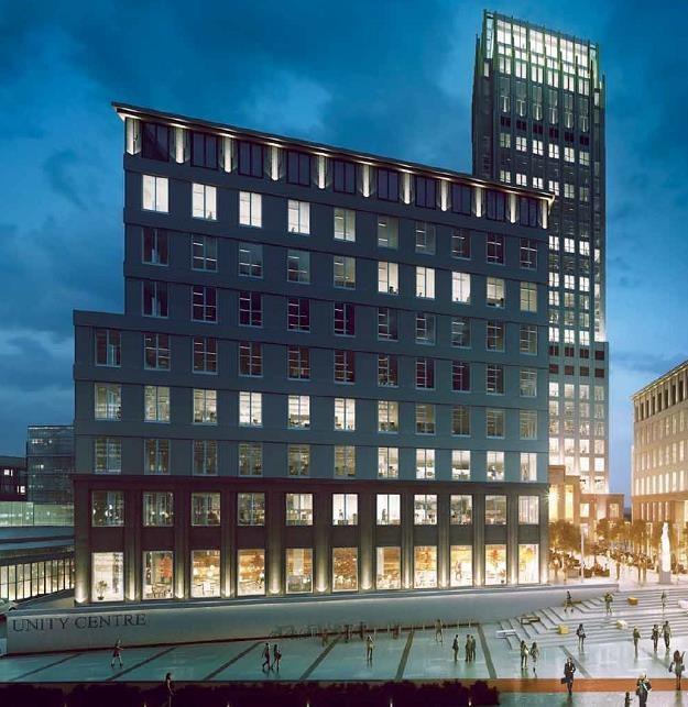 Unity Centre (wizualizacja) w Krakowie /Informacja prasowa