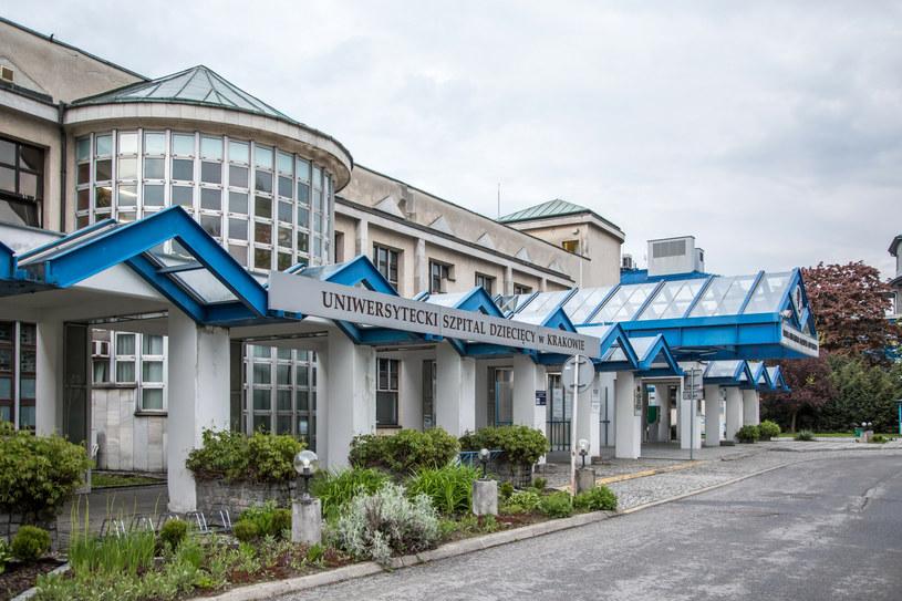 Uniwersytecki Szpital Dziecięcy w Krakowie /Jan Graczynski/East News /East News