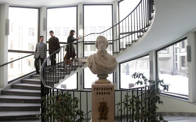 Uniwersytet Muzyczny im. Fryderyka Chopina w Warszawie / fot. Bartłomiej Zborowski /PAP