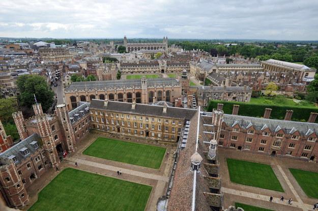 Uniwersytet w Cambridge / Nick Ansell /PAP/PA