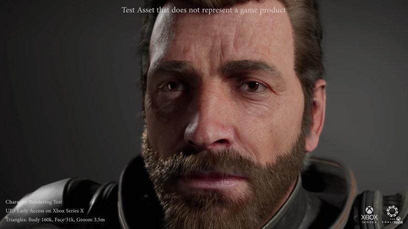 Unreal Engine 5 i renderowana postać /materiały prasowe