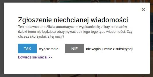 unsubscribe /INTERIA.PL