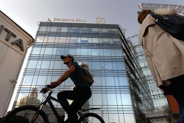 Upadek Deutsche Banku jest mało prawdopodobny /AFP