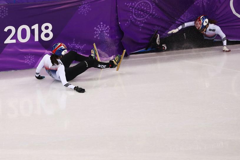 Upadek podczas igrzysk w Pjongczangu /Ronald Martinez /Getty Images