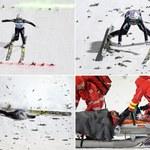 Upadek Simona Ammanna: Szwajcar pozostanie w szpitalu kilka dni