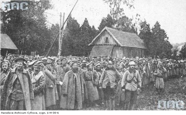 Walki austriacko-rosyjskie o Przemyśl - jeńcy rosyjscy w twierdzy przemyskiej podczas oblężenia