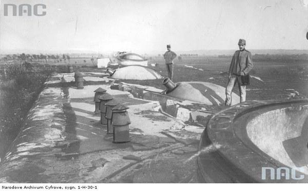 Walki austriacko-rosyjskie o Przemyśl - fragment bunkra