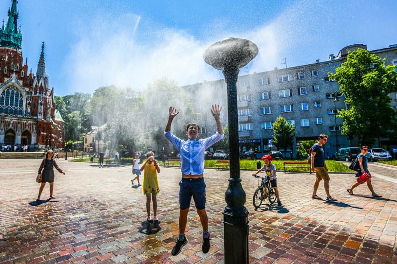 Upał w mieście /Beata Zawrzel/REPORTER /East News