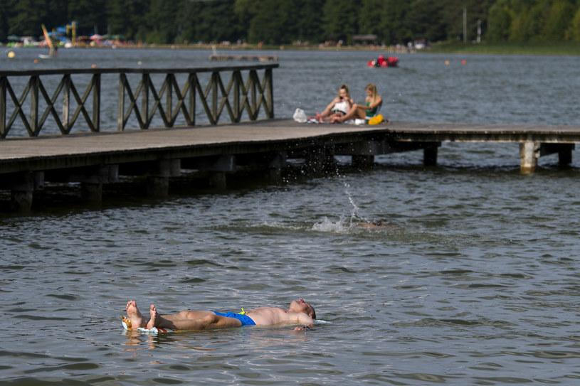 Upalna pogoda sprzyja wypoczynkowi nad wodą, zdj. ilustracyjne / Agencja Wschod / /Agencja FORUM