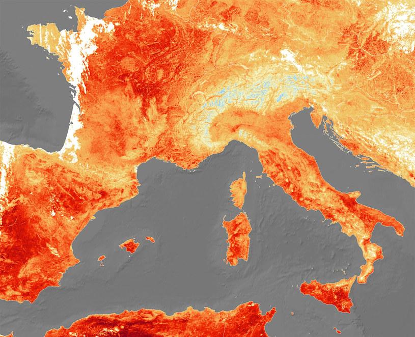 Upały w Europie (arch.) /ESA / eyevine /East News