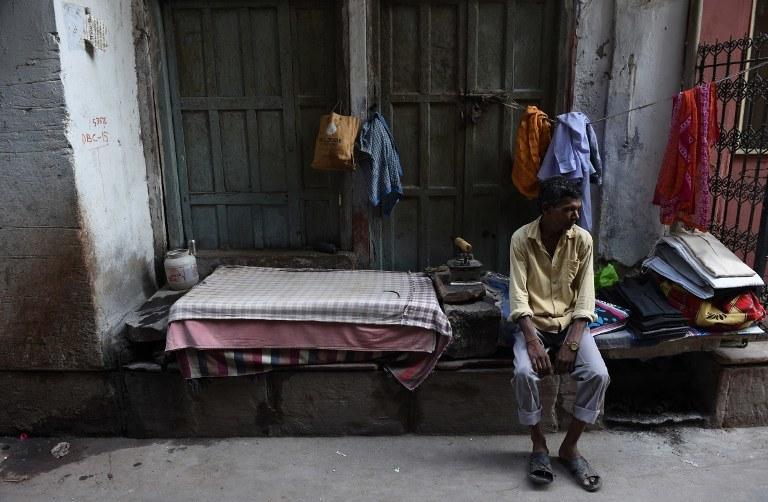Upały w Indiach /AFP