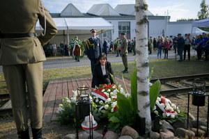 Upamiętnienie więźniów obozu Dulag 121. Mateusz Morawiecki: Zostawili całe swoje życie
