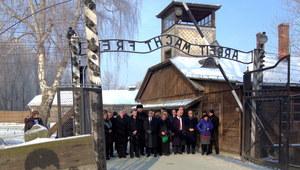 Upamiętniono ofiary Holokaustu w 69. rocznicę wyzwolenia obozu Auschwitz