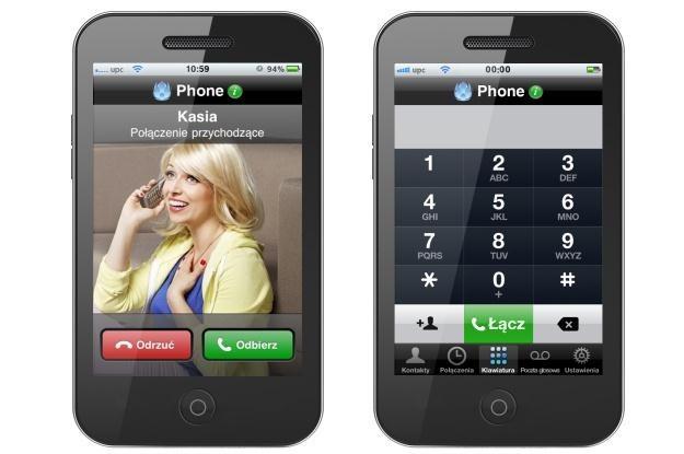 UPC Phone - dostęp do telefonu stacjonarnego przez smartfona /materiały prasowe