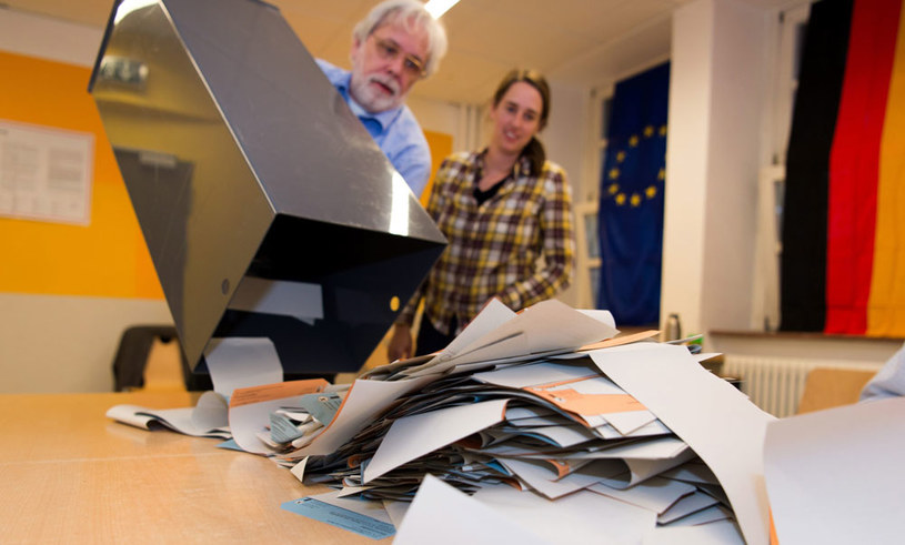 Uprawnionych do głosowania było 2,48 mln mieszkańców Berlina /Monika Skolimowska    /PAP/EPA