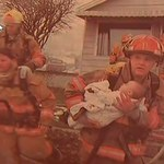 Uratował dziecko z pożaru. Zobacz, co wydarzyło się później