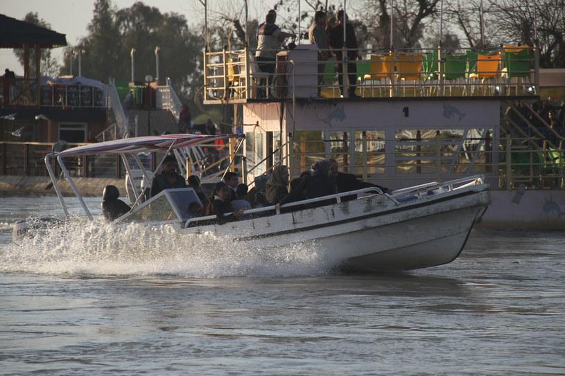 Uratowano 55 osób /WALEED AL-KHALED / AFP /AFP