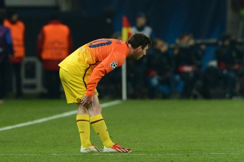 Uraz Messiego nie jest tak poważny, jak pierwotnie sądzono. /AFP