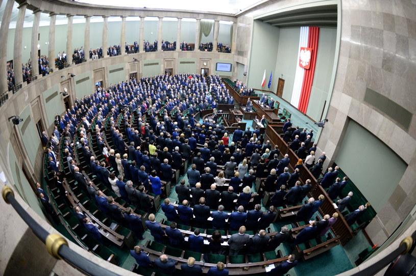 Uroczysta inauguracja pierwszego posiedzenia Sejmu VIII kadencji /Jacek Turczyk /PAP
