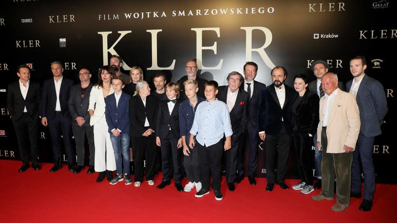 "Uroczysta premiera filmu ""Kler"" /Piotr Molecki /East News"