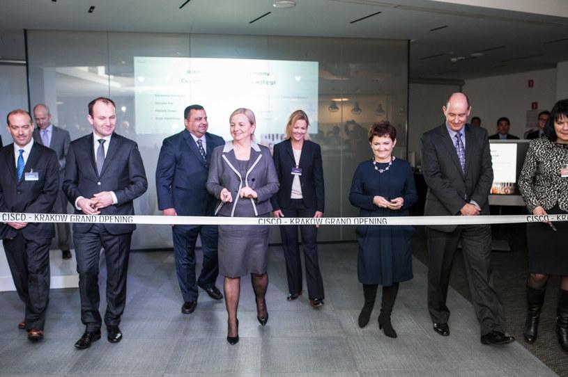 Uroczyste otwarcie kolejnego biura Cisco w Krakowie /materiały prasowe