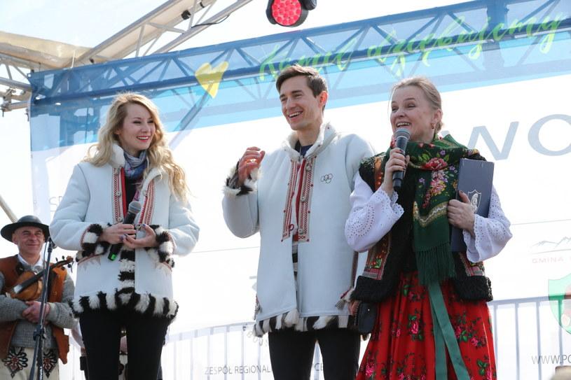 Uroczyste powitanie dwukrotnego medalisty olimpijskiego z Pjongczangu Kamila Stocha / Grzegorz Momot    /PAP