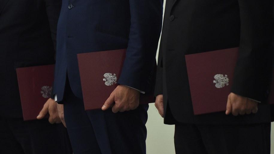 Uroczystość mianowania nowych ministrów w Pałacu Prezydenckim /PAP