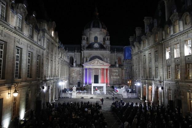 Uroczystość na Sorbonie /Francois Mori / POOL /PAP/EPA