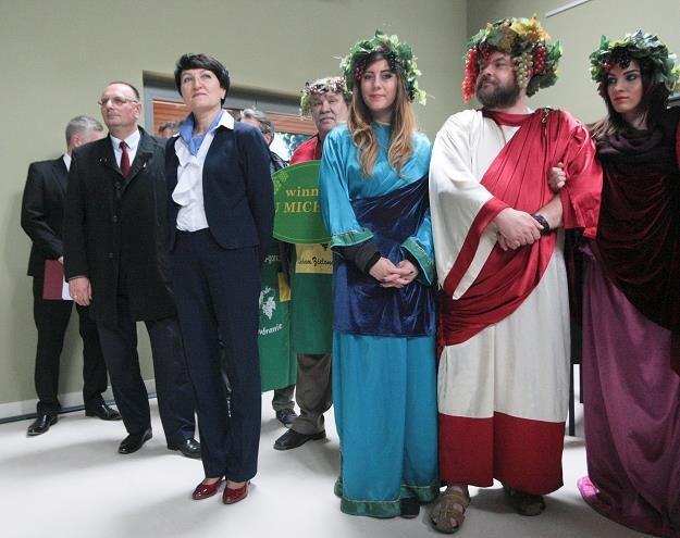 Uroczystość otwarcia Lubuskiego Centrum Winiarskiego w miejscowości Zabór koło Zielonej Góry /PAP