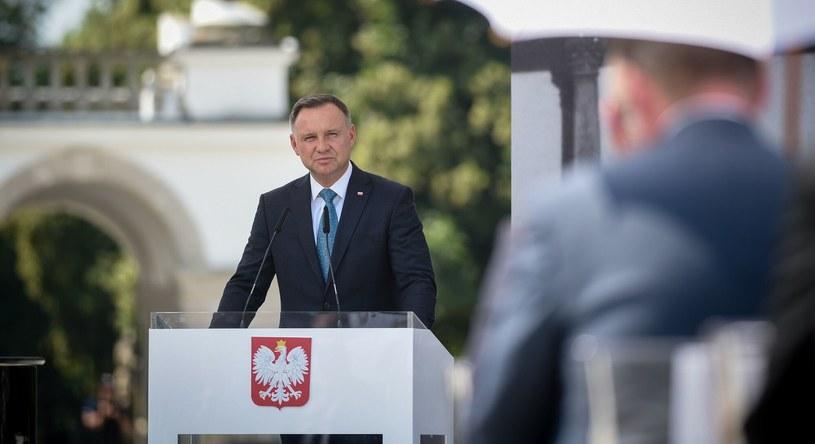 Uroczystość przekazania projektu Ustawy o odbudowie Pałacu Saskiego /Zbyszek Kaczmarek /Reporter
