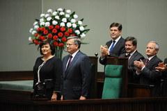 Uroczystość zaprzysiężenia prezydenta