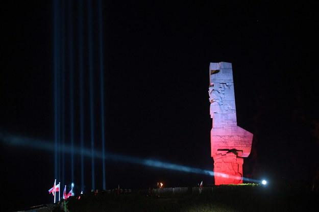 Uroczystości na Cmentarzu Żołnierzy Wojska Polskiego na Westerplatte w Gdańsku / Adam Warżawa    /PAP