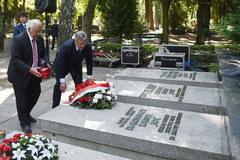 Uroczystości na Mokotowie w 71 rocznicę Powstania Warszawskiego