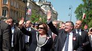 Uroczystości na pl. Zamkowym w Warszawie