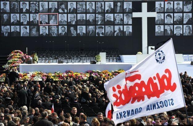 Uroczystości na Placu Piłsudskiego w Warszawie 17 kwietnia 2010 roku /AFP