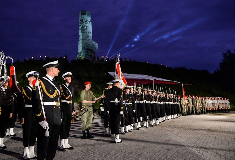 Uroczystości na Westerplatte w 2017 r. /Przemek Świderski /East News