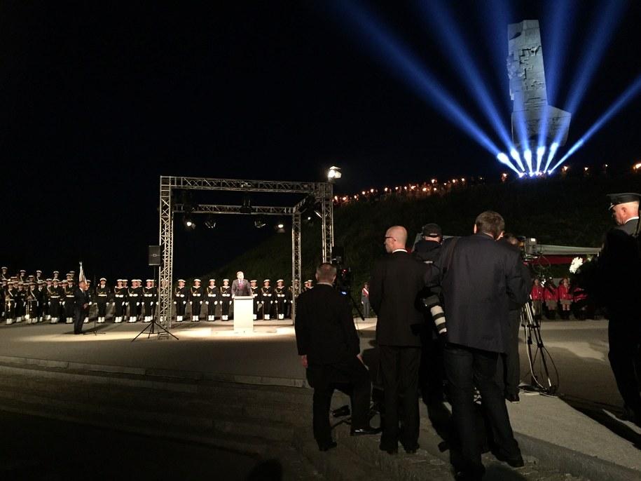 Uroczystości na Westerplatte /Kuba Kaługa /RMF FM