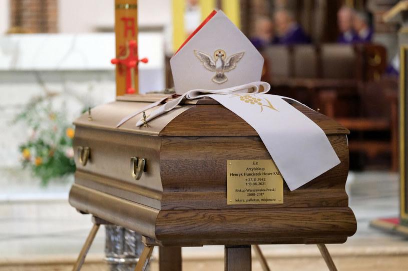 Uroczystości pogrzebowe abpa Hosera /Mateusz Grochocki /East News