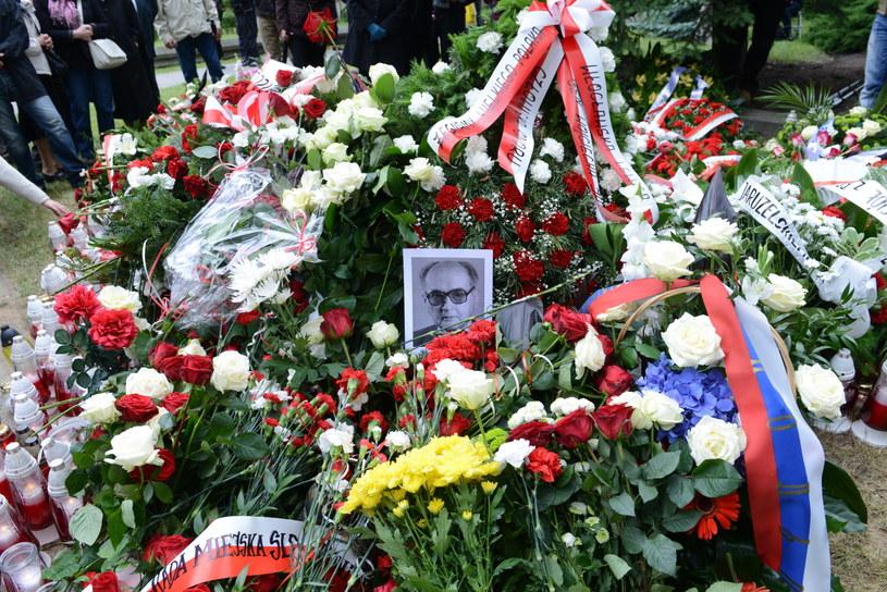 Uroczystości pogrzebowe generała Wojciecha Jaruzelskiego na wojskowych Powązkach /Jacek Turczyk /PAP